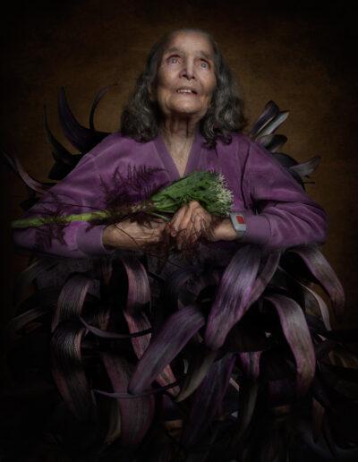 Fineart old woman art